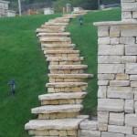 Kamienie naturalne Opole Wiench schody